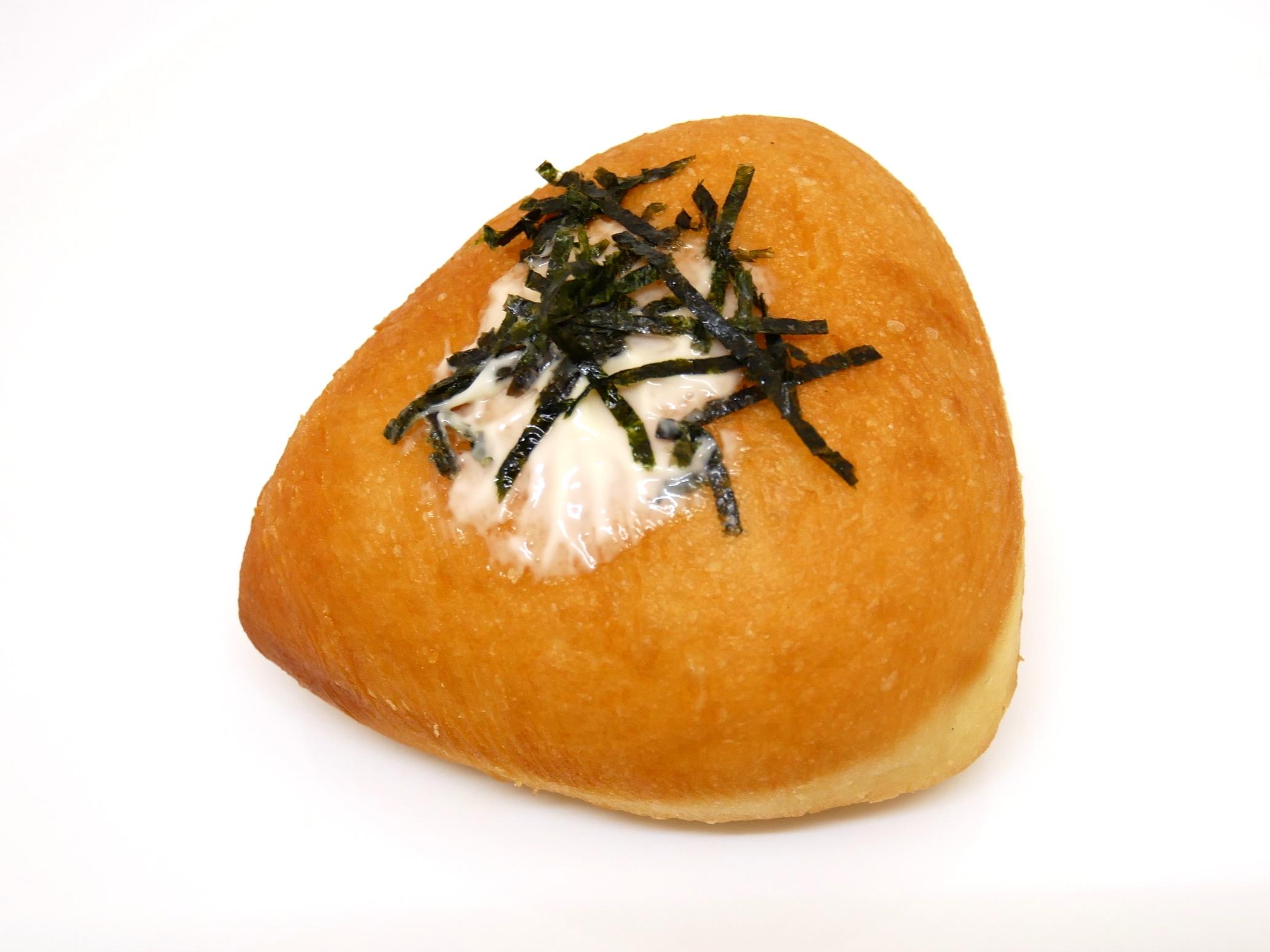 こんな明太揚げパン、あっ高菜?